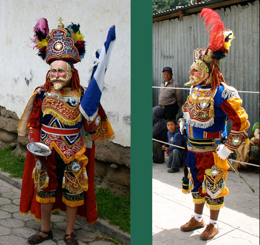 Maya Costume of Rey K'iche'